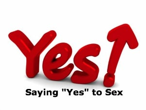 saying yes to sex
