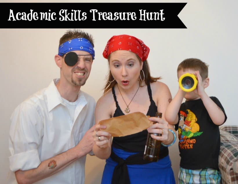 Academic Skills Treasure Hunt