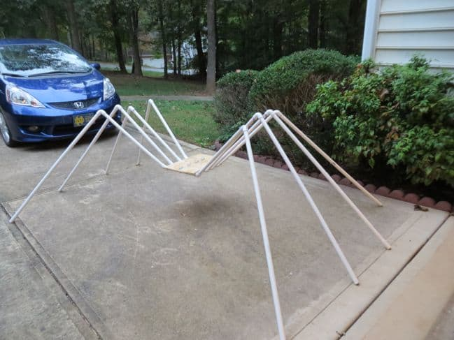 PVC Pipe Spider Tutorial
