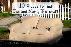 10 places to find free and nearly free stuff