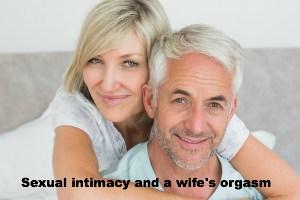 a wife's orgasm