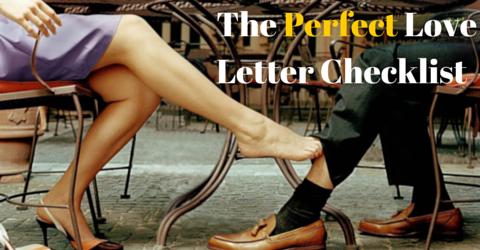 The Perfect Love Letter Checklist-1