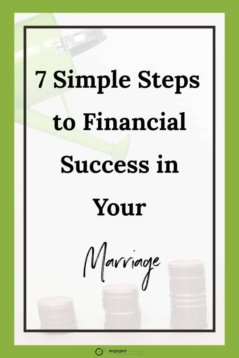 There are certainly many issues that impact the quality of our marriages. But if I had to pick the top one, especially in recent years, I would choose money. It's said that money fights and financial problems are the top reason for divorce, and that seems likely since it touches most areas of our lives. Click for the Seven Simple Steps for Financial Success in your marriage.