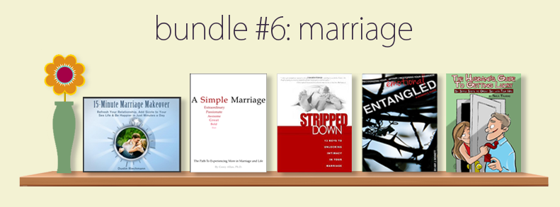 Marriage E-Book Bundle for $7.40