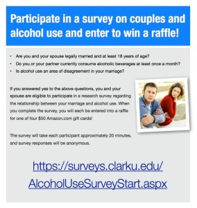 Alcohol in Marriage Survey