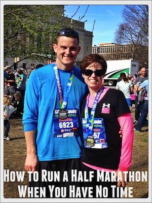 How to Run a Half Marathon When You Have No Time