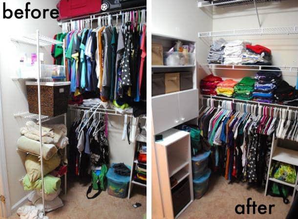 4 ways to improve your closet