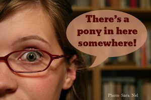 pony in here somewhere