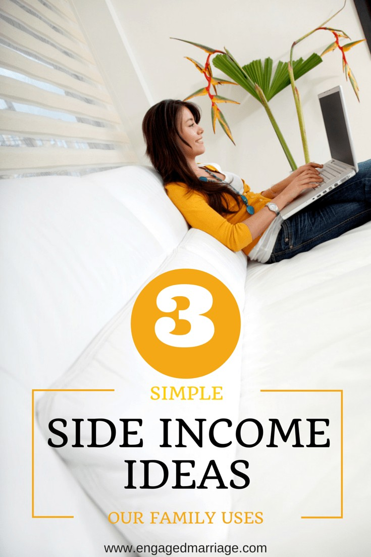 3 Simple Side Income Ideas