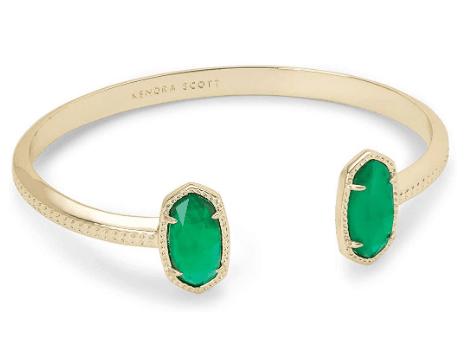 Kendra Scott Gold Cuff Bracelet Gift