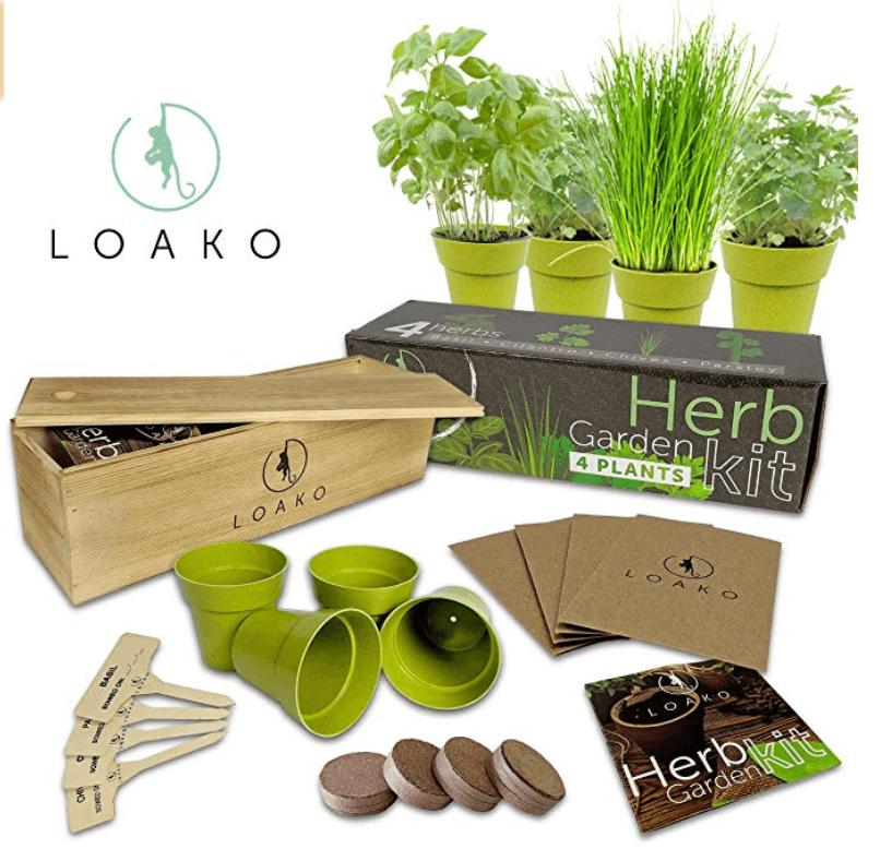 Indoor Herb Garden Kit Gift