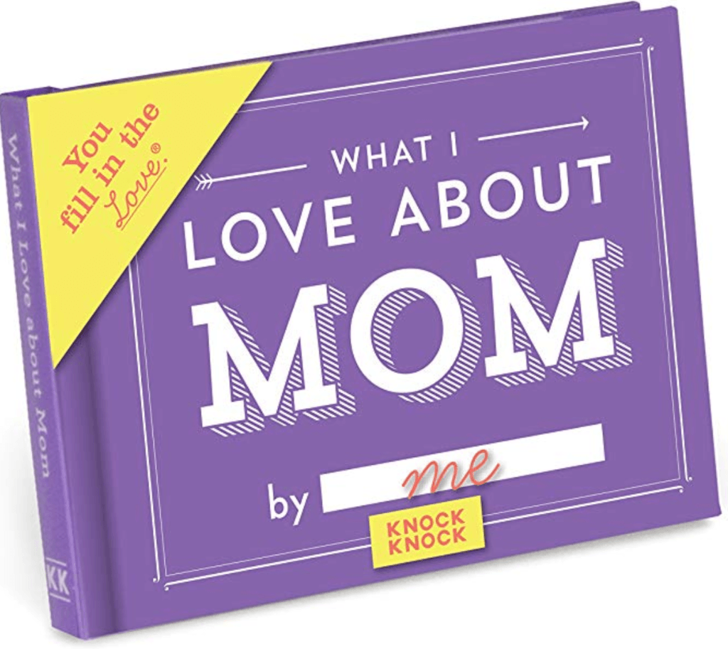 What I Love About Mom Book Gift