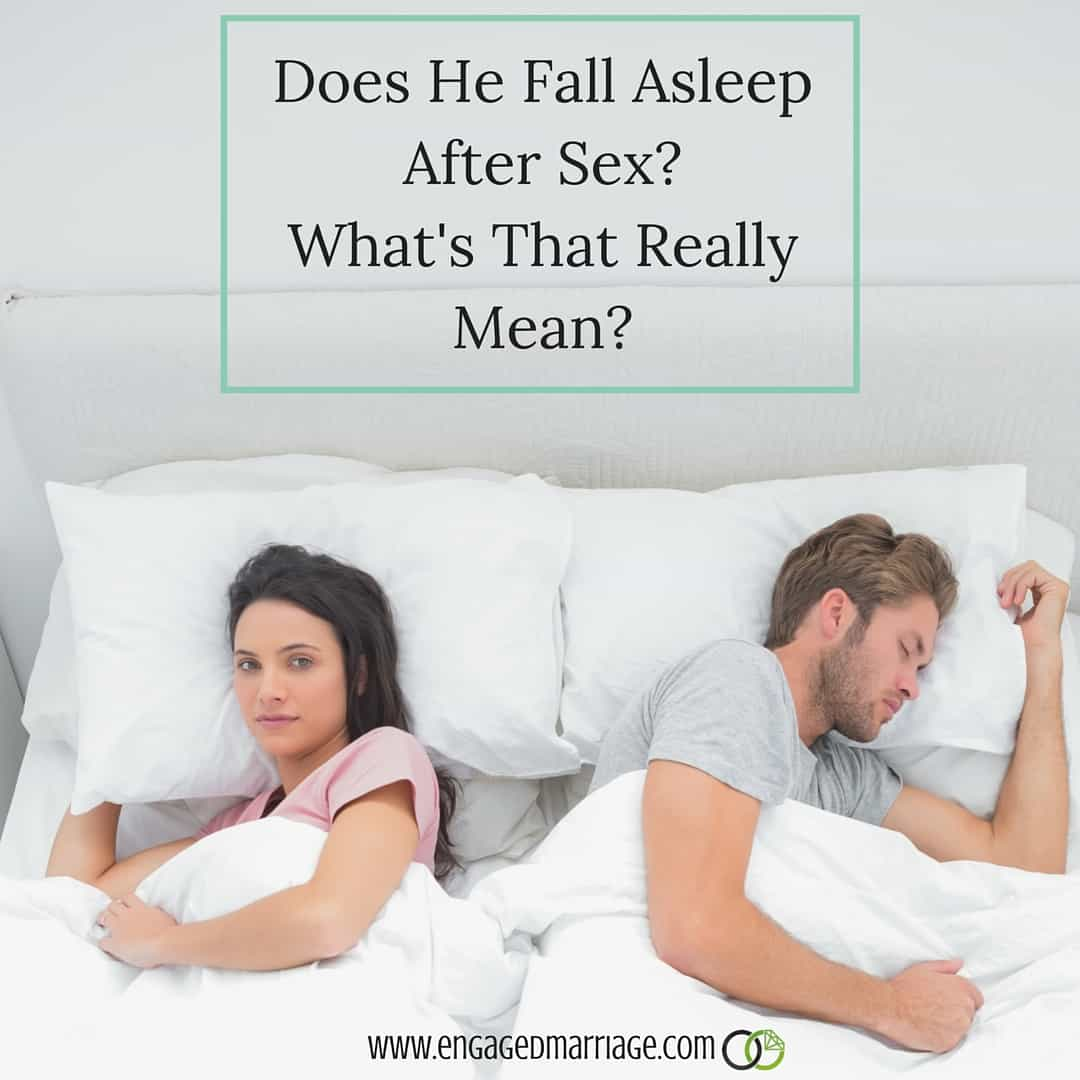 Does He Fall Asleep After Sex- What's That Really Mean-