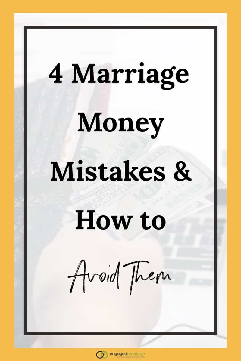 Money problems are one of the top reasons that marriages end in divorce, yet unfortunately, most engaged and newly married couples fail to prepare themselves. Though you both may be juggling your finances separately, now that you're joining together as one, being on the same page is critical. Click through to understand the most common mistakes couples make that end up costing them big later.