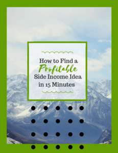 Profitable Side Income Ideas