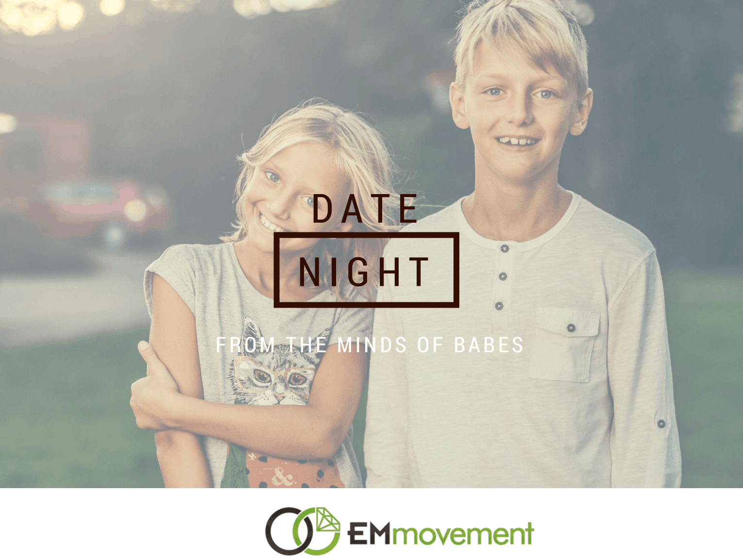 Creative Date Idea for Parents - Ask the Kids